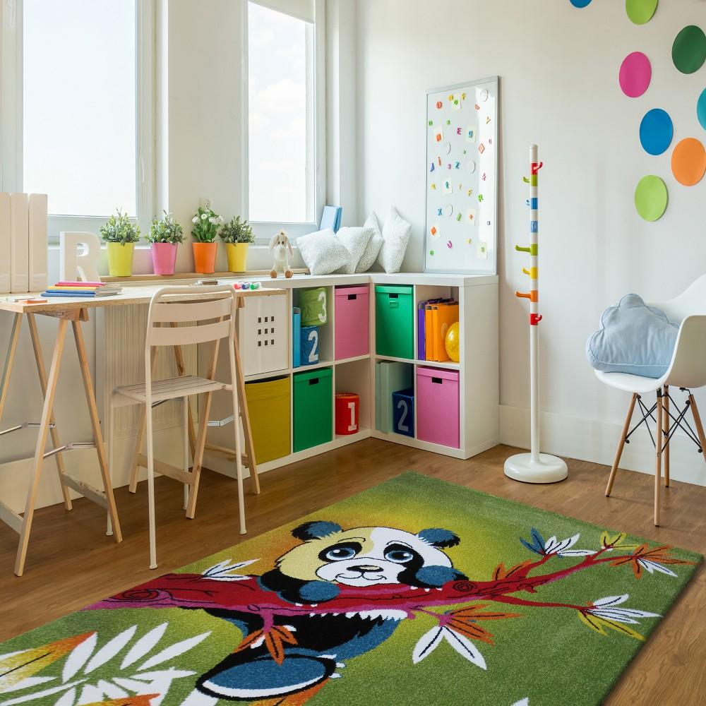Dywan Edukacyjny Dla Dzieci Miś Panda Km