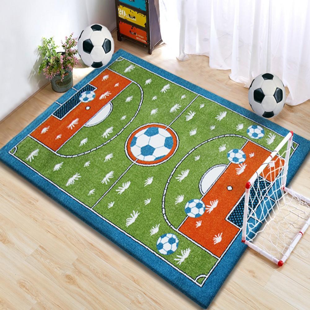 Dywan edukacyjny dla Dzieci Stadion Boisko kM eSklep